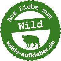 Wilde Aufkleber - Aus Liebe zum Wild