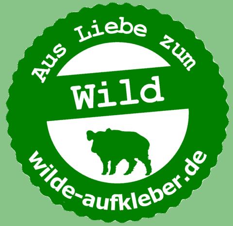 Wildbret-Aufkleber